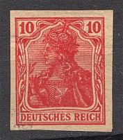 1902 Germany 10 Pf Probe Proof (Authenticity unknown, Signed, CV $800)