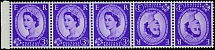 Great Britain, 1958, Queen Elizabeth II, 3p deep lilac, wmk Multiple Crowns