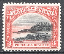 1935-37 British Trinidad and Tobago Displaced Center