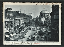 1936 Berlin House of Fatherland in Saarlandstrasse Photo postcard