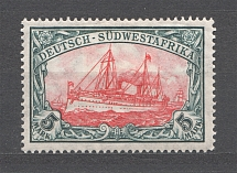 1906-19 South West Africa German Colony 5 Mark (CV $60)