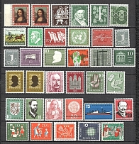 1952-60 Germany Federal Republic Collection (3 Scans, Full Sets, MNH)