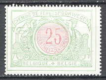 1902-06 Belgium Displaced Center