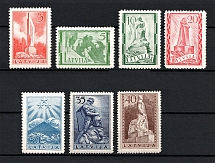 1937 Latvia (Full Set, CV $15, MNH)