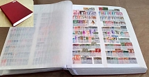 Collections/Mixed Lots Large 60-side stockbook, vgc, most pages crammed with Wor