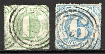 1865 Thurn und Taxis Germany (CV $65, Cancelled)