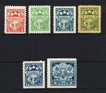 1929-32 Latvia (Signed, Full Set, CV $100)