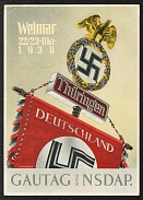 1938 Reich party rally of the NSDAP in Nuremberg, The standard of the SA Gruppe Thuringen