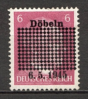1945 Dobeln Germany Local Post (Full Set)