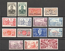 1915-50 St. Pierre & Miquelon French Colony (Full Sets)