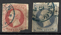 1859 Hanover Germany (Cancelled)
