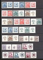 1940-41 Bohemia and Moravia (2 Scans, Full Sets, MH/MNH)