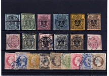 HANNOVER, Michel no.: 1-25 USED, Cat. value: 1900€