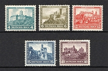 1932 Third Reich, Germany (Mi. 474-478, Full Set, CV $230, MNH)