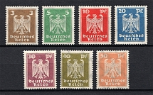 1924 Third Reich, Germany (Mi. 355-361, Signed, Full Set, CV $450, MNH)