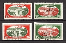 1930 Latvia Airmail (Perf+Imperf, Full Sets, CV $125, Canceled)