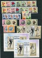 Valuable Colonies and Territories Accumulation 1960-2021, 3200 stamps, 134 SS