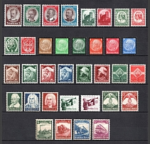 1934-35 Third Reich, Germany Collection (Full Sets, CV $160)