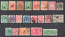 Canada, British Colonies (Group of Stamps, Canceled)