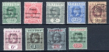 TOGO, Michel no.: 1-7 MH, Cat. value: 121€