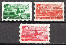 1948 USSR Five-Year Plan in Four Years Electrification (Full Set, MNH)