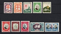 1930 Latvia (Full Set, CV $30)