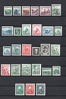 1918-38 Czechoslovakia Collection (Full Sets, 2 Scans, CV $40, MH/MNH)