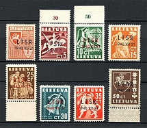 1940 Lithuania (Full Set, MNH)