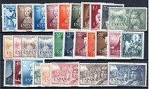 SPANIEN, Michel no.: 988-1017 MNH, Cat. value: 325€
