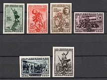 1940 USSR The 20th Anniversary of Fall of Perekop (Imperf, Full Set, MNH)
