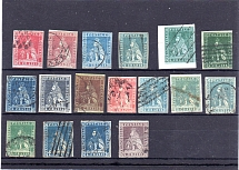 TOSCANA, Michel no.: 4-6ya/b USED, Cat. value: 1945€
