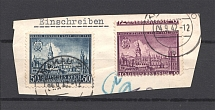 1942 Germany General Government (Shifted Perforation, Print Error, Cancelled)