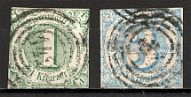 1859-61 Thurn und Taxis Germany (CV $45, Cancelled)