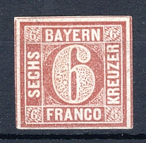 BAYERN, Michel no.: 4I M, Cat. value: 9000€