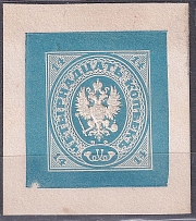 1883. Essay Mandrovsky No. 89E (illustration from the catalog - p. 263). Ex - Faberge. Letterpress printing on white