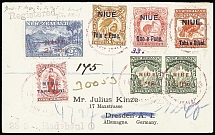1903-50 AUSTRALASIA : Selection of 81 covers and cards showing a wide range of f