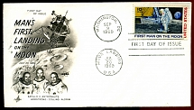1969: First Man on the Moon (FDC)