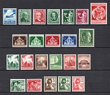 1936-40 Third Reich, Germany Collection (Full Sets, CV $50)
