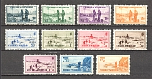 1939-40 St. Pierre & Miquelon French Colony (CV $10, Full Set)