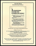 1933 Germany Summons You Brochure for the NSDAP Plebiscite