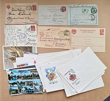 A selection of old and new letters (many interesting).