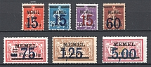 1921-22 Memel Germany (Full Sets)