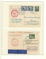Germany - L.Z.130 (Graf Zeppelin II) Flights 1938-39, 16 cards or covers