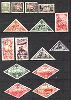 Russia Tannu Tuva Group of Stamps (2 Scans, Cancelled)