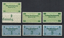 Fiscal Tax Revenue Stamps, Germany (MNH)