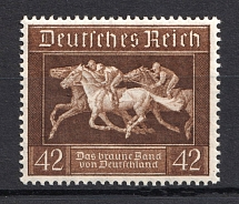 1936 Third Reich, Germany (Full Set, CV $20, MNH)