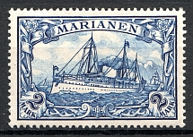 1901 Mariana Islands German Colony 2 Mark