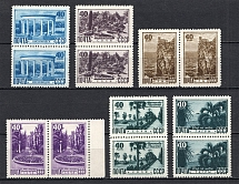 1949 USSR Views of Crimea and Caucasus Pairs (MNH)