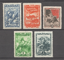 1943-44 USSR Komsomol (Full Set, MNH)