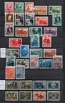 1934-1961 USSR Collection (54 Pages of Canceled Sets and Stamps)